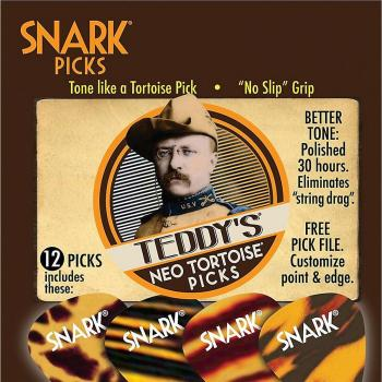 Picks - Teddys Neo Tortoise 0.78mm Medium 12 pc