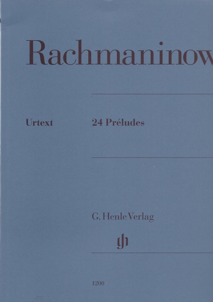 Sergei Rachmaninoff: 24 Préludes
