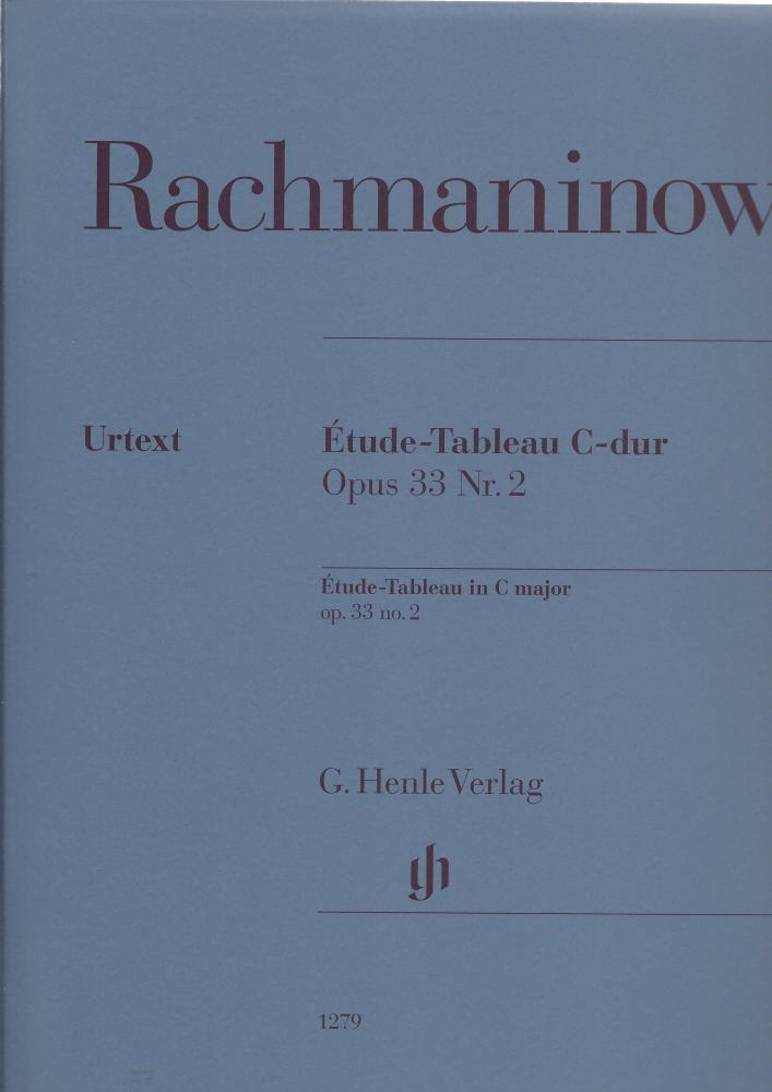 Rachmaninov - Etude-Tableau C Major Opus 33 no.2