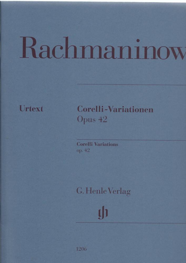 Rachmaninov - Corelli Variations Opus 42
