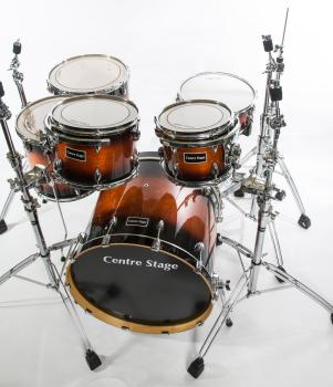 Centre Stage Birch Drum Kit including bags