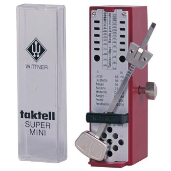 Taktell Super Mini Metronome - Ruby
