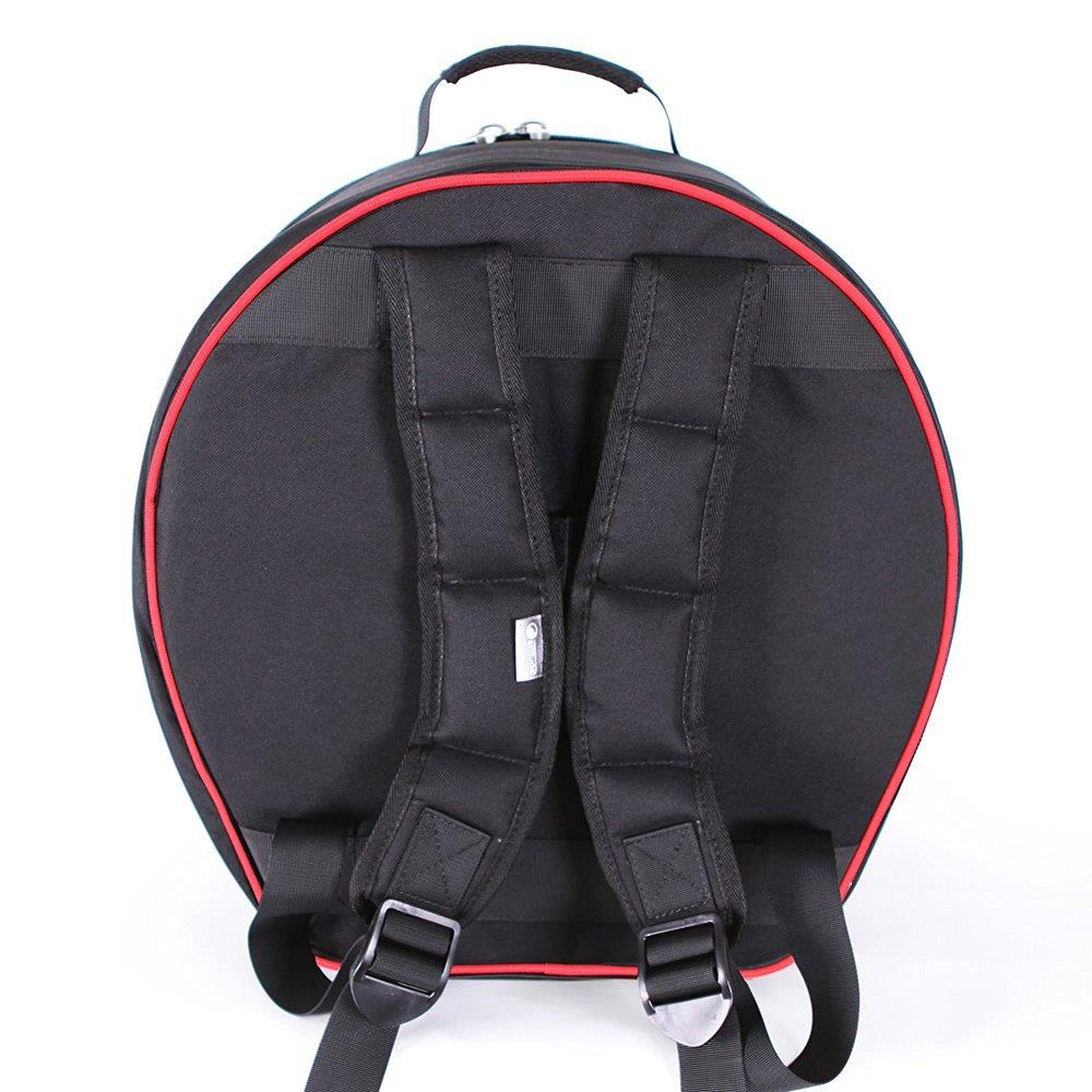 Atude Busker Snare Drum Bag 14cm Black And Red