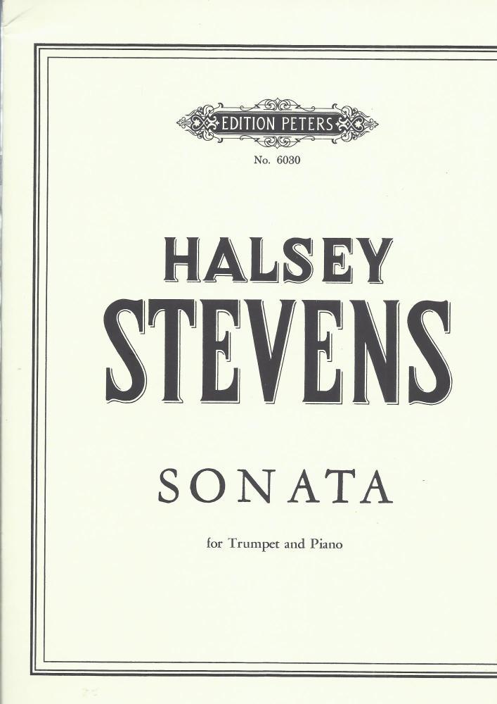 Sonata for Trumpet - Halsey Stevens