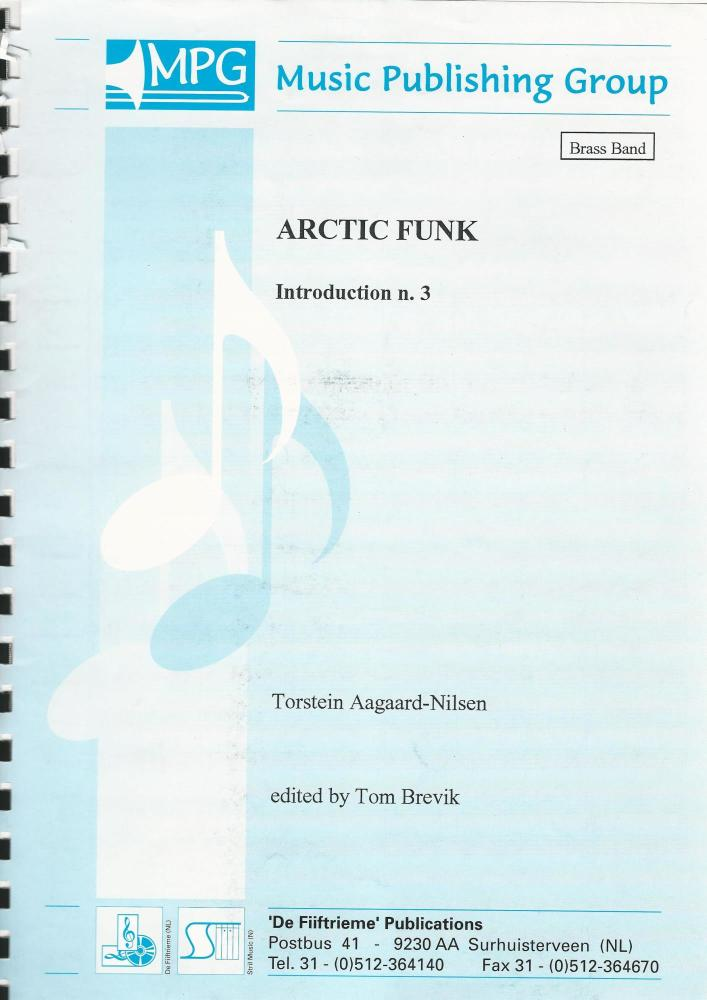 Arctic Funk Introduction No. 3 for Brass Band (Score Only) - Torstein Aagaa