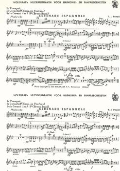 Serenade Espagnole Fanfare for Brass Band - T.J. Powell