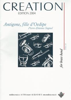 Antigone, fille d'Oedipe for Brass Band - Pierre-Etienne Sagnol