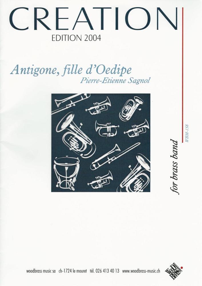 Antigone, fille d'Oedipe for Brass Band - Pierre-Etienne Sagnol