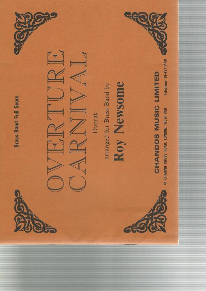 Overture Carnival for Brass Band - Dvorak, arr. Roy Newsome