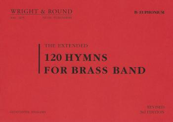 120 Hymns for Brass Band Bb Euphonium