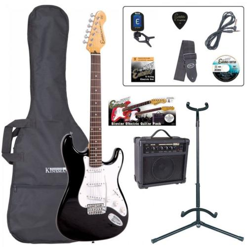 E6 Blaster Series Electric Guitar Outfit - Black