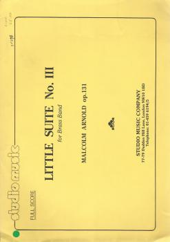 Little Suite No. III for Brass Band (Score Only) - Malcolm Arnold