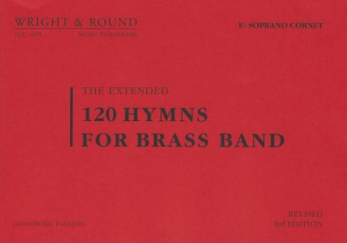 120 Hymns for Brass Band Eb Soprano Cornet