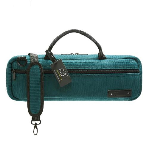 Beaumont Flute case cover - Teal Cord