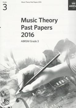 ABRSM Music Theory Past Papers 2016 Grade 3