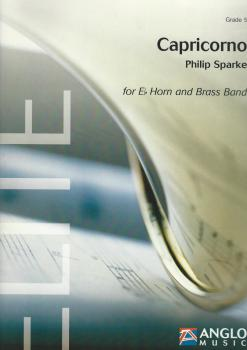 Capricorno for Eb Horn and Brass Band (Score Only) - Philip Sparke