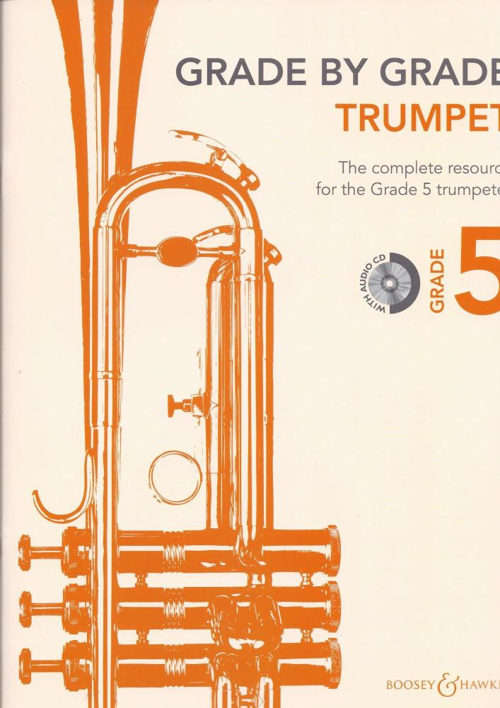Janet Way: Grade By Grade - Trumpet (Grade 5) Book/CD