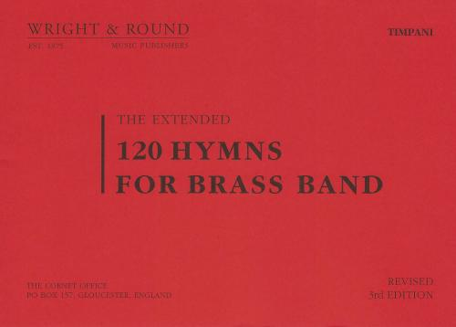 120 Hymns for Brass Band Timpani