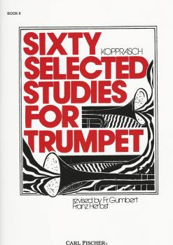 Sixty Selected Studies for Trumpet - Kopprasch