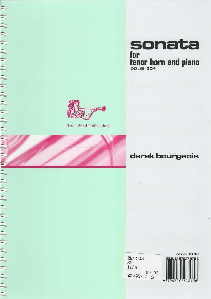 Sonata for Tenor Horn (Opus 304) - Bourgeois