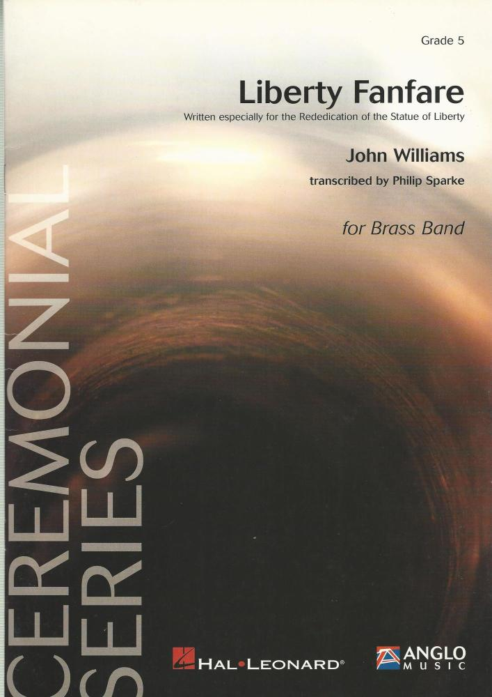 Liberty Fanfare for Brass Band (Score Only) - John Williams arr. Philip Spa