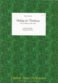 Holiday for Trombones (Trio - Score Only) for Brass Band - David Rose, arr. Mark Freeh