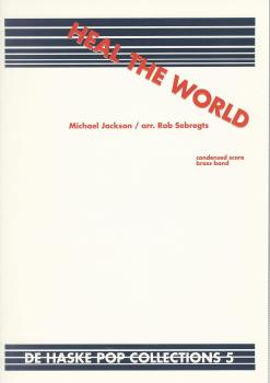 Heal the World for Brass Band (Score Only) - Michael Jackson, arr. Rob Sebregts