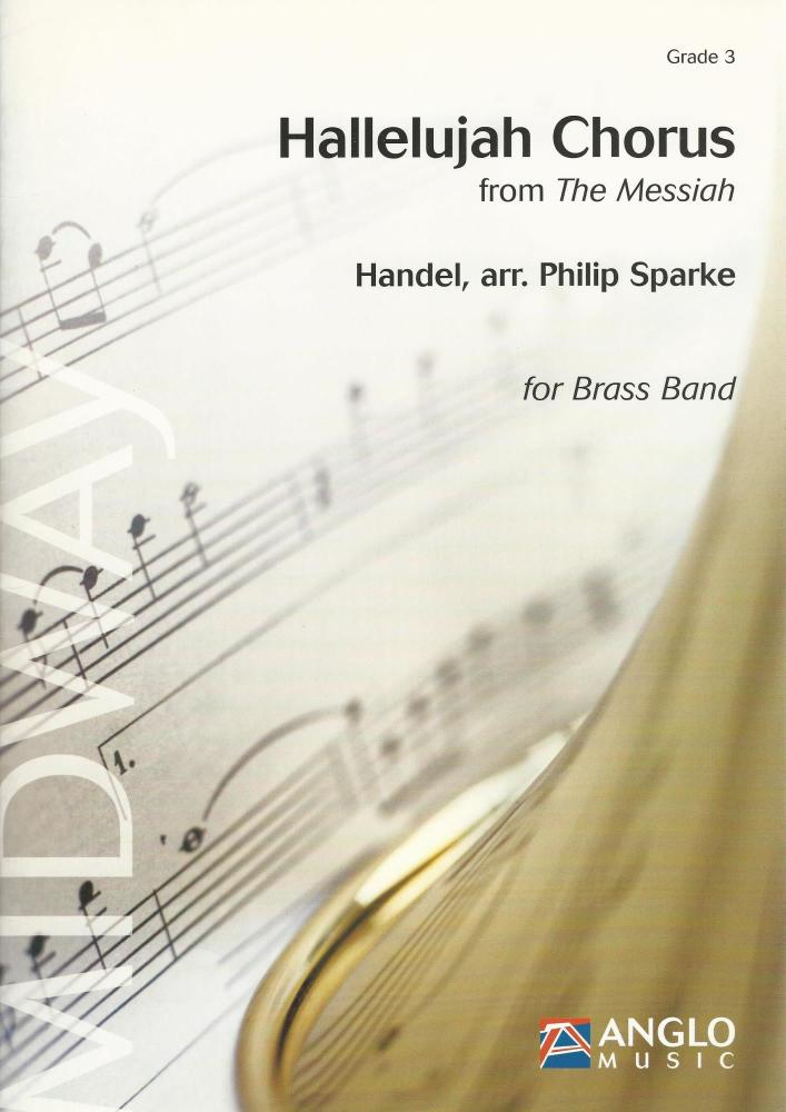 Hallelujah Chorus from the Messiah for Brass Band (Score Only) - Handel, ar