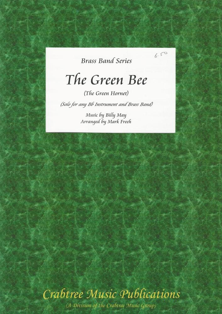The Green Bee for Bb Soloist and Brass Band (Score Only) - Billy May, arr.