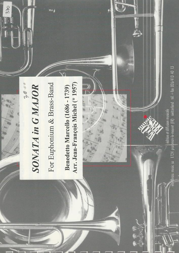 Sonata in G Major for Euphonium and Brass Band - Benedetto Marcello, arr. J