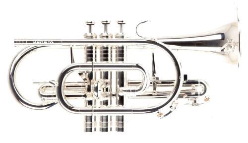 Geneva Symphony Bb Cornet - Silver Plate