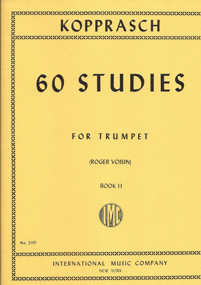 Kopprasch - 60 Studies for Trumpet