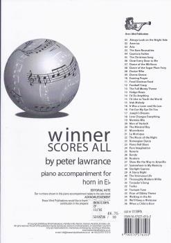 Winner Scores All - Piano Accompaniment (Eb Horn)