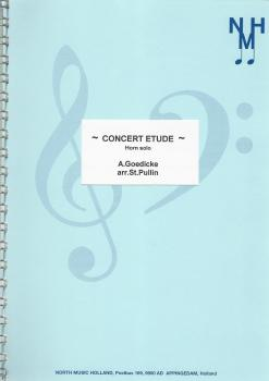 Concert Etude for Tenor Horn and Brass Band - A. Goedicke, arr. St. Pullin
