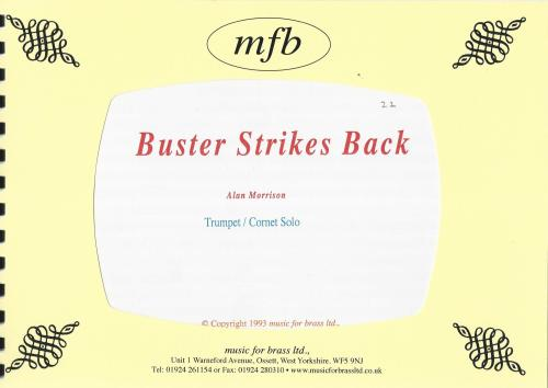 Buster Strikes Back Cornet Solo with Brass Band - Alan Morrison