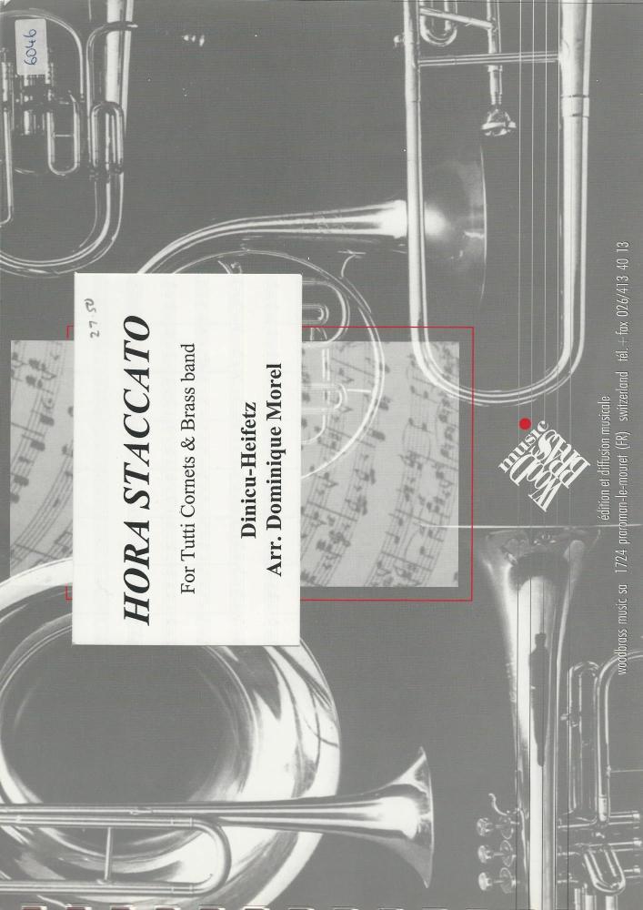 Hora Staccato Cornet Feature for Brass Band - Dinicu-Heifetz, arr. Dominiqu
