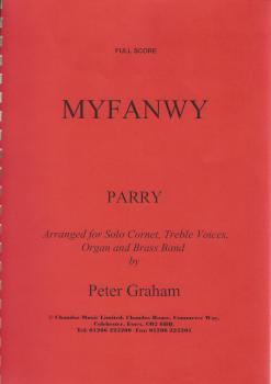 Myfanwy for Solo Cornet, Treble Voices, Organ and Brass Band - Parry, arr. Peter Graham