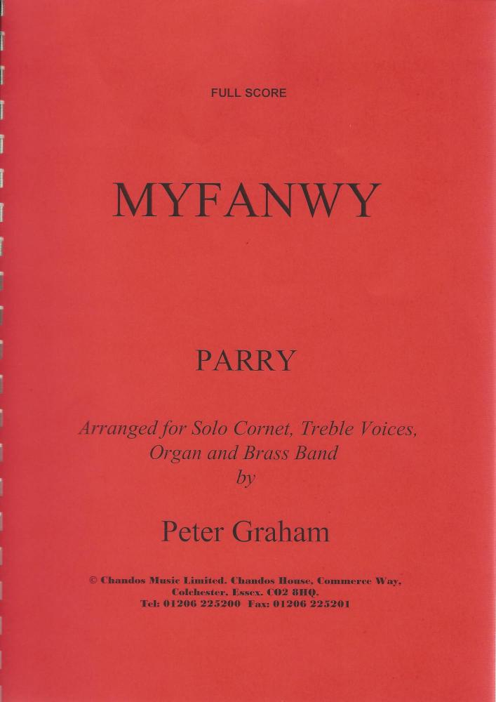 Myfanwy for Solo Cornet, Treble Voices, Organ and Brass Band - Parry, arr.