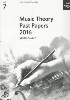 ABRSM Music Theory Past Papers 2016 Grade 7