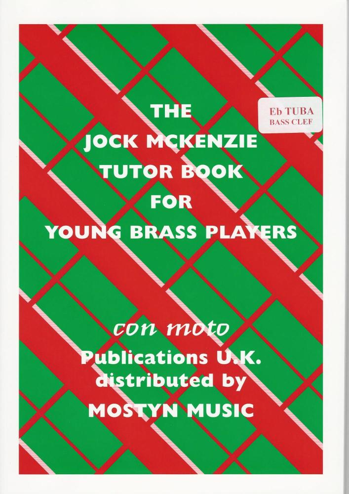 The Jock McKenzie Tutor Book for Young Brass Players - Bass Clef  (Tuba)