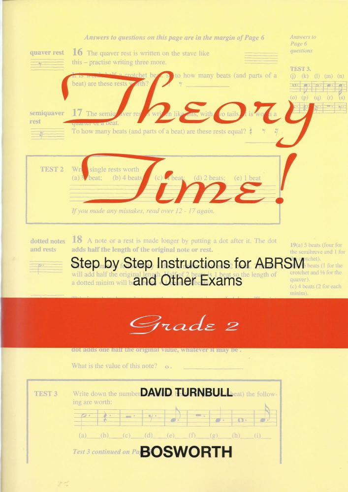 David Turnbull: Theory Time - Grade 2