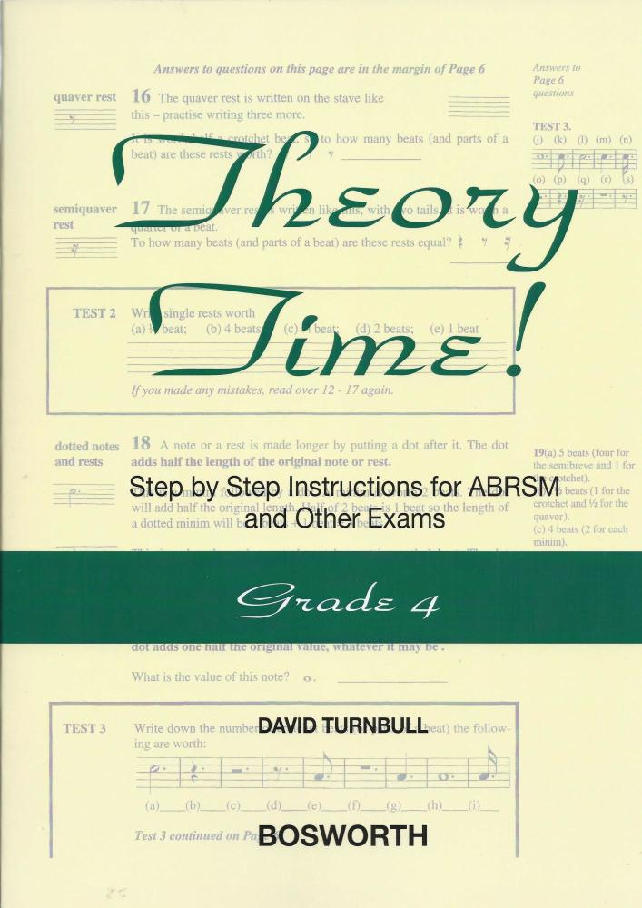David Turnbull: Theory Time - Grade 4