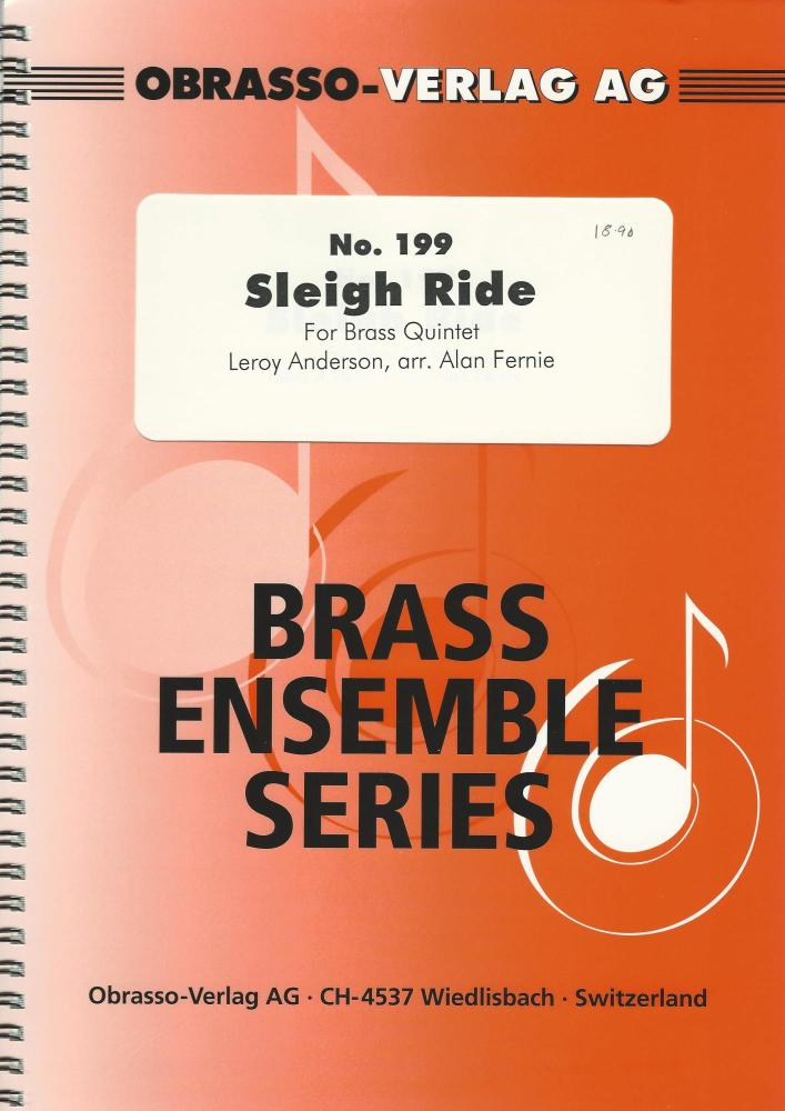 Sleigh Ride for Brass Quintet - Leroy Anderson, arr. Alan Fernie