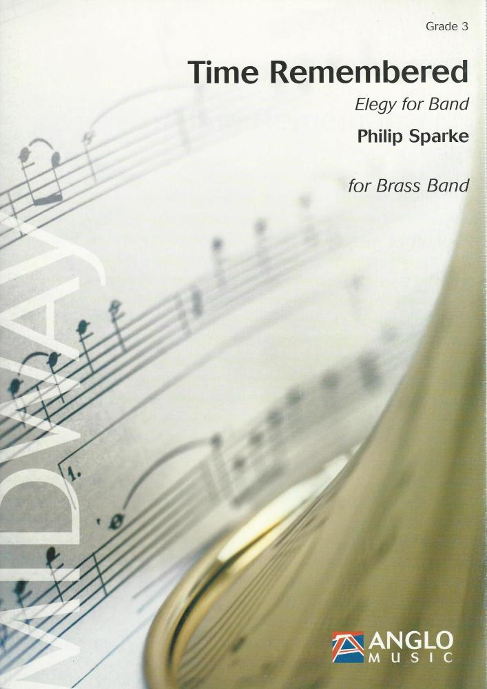 Time Remembered (Elergy for Band) for Brass Band (Score Only)- Philip Spark