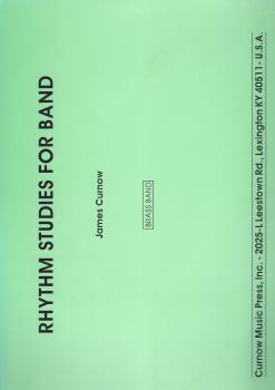 Rhythm Studies for Brass Band - James Curnow