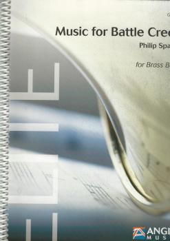 Music for Battle Creek for Brass Band (Score Only) - Philip Sparke