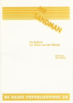 Mr Sandman for Brass Band (Score Only) - Pat Ballard, arr. Klaas van der Woude