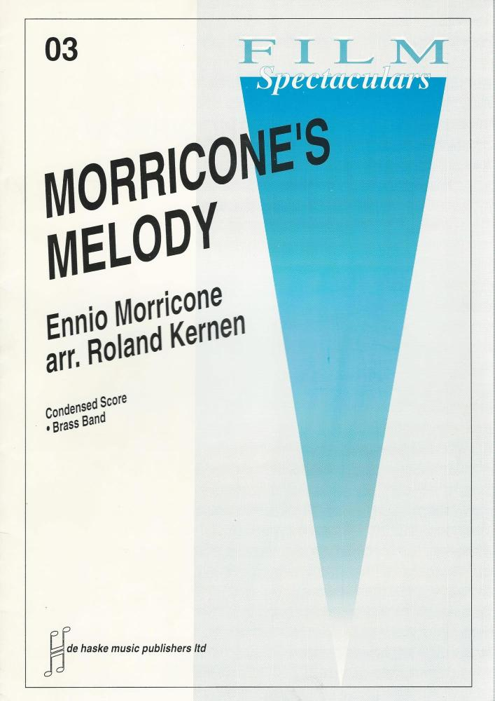 Morricone's Melody for Brass Band (Score Only) - Ennio Morricone, arr. Rola