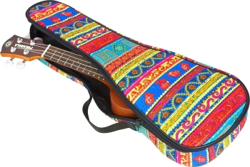 Tom & Will Concert Ukulele Gig Bag, 5mm Padding in Persian