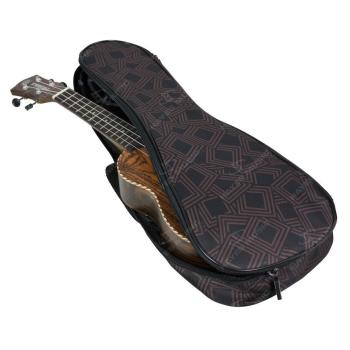 Tom & Will Soprano Ukulele Gig Bag, 5mm Padding in Chockablock